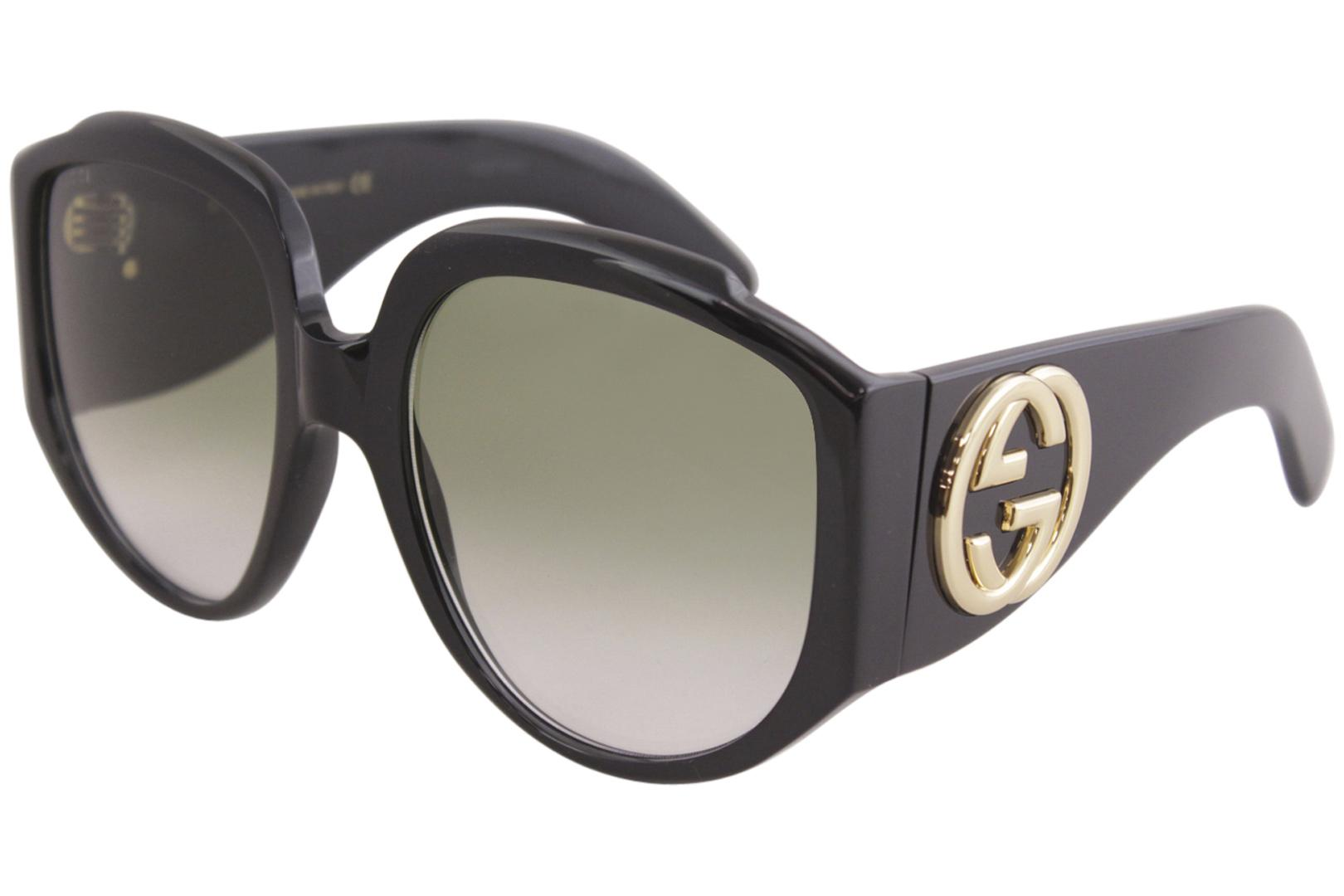 ee3a24846456 Gucci Women's GG0151S GG/0151/S Fashion Butterfly Sunglasses