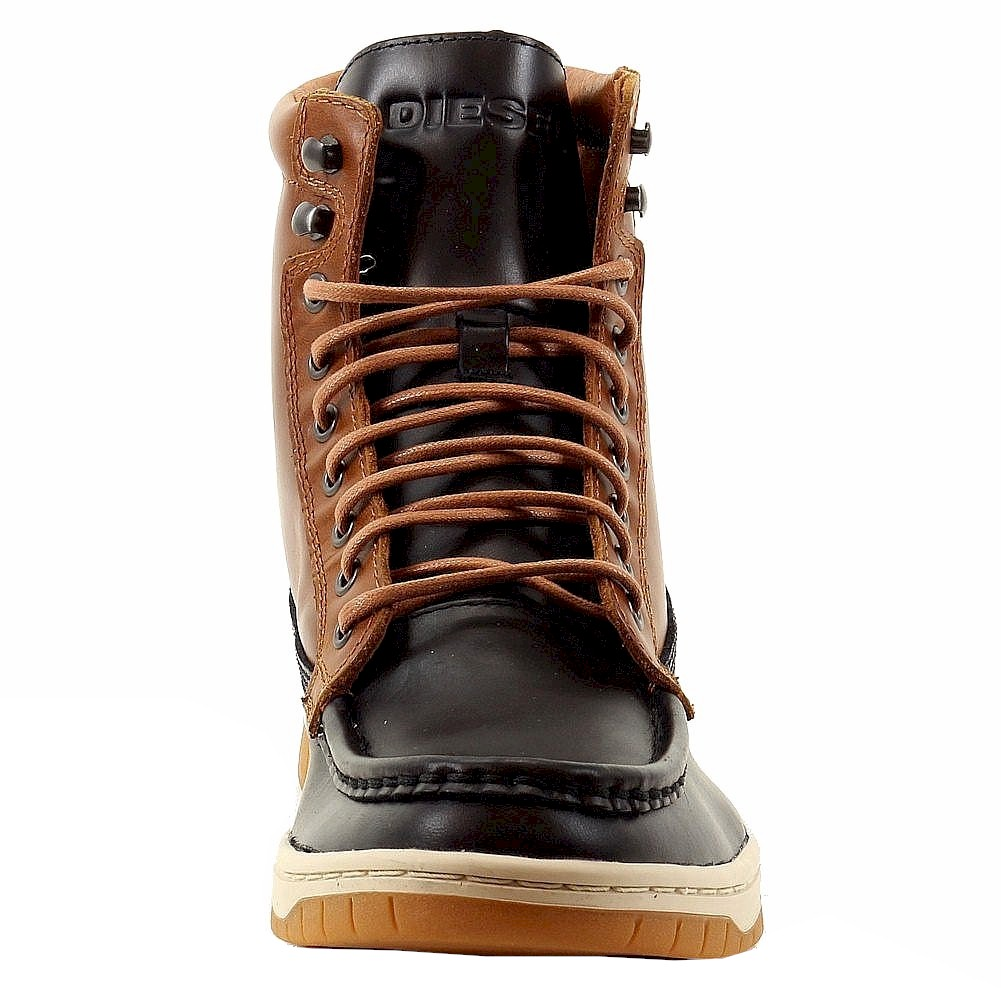 Diesel Men's Club Tatra Fashion Leather Sneaker Boots Shoes /Shoes ...
