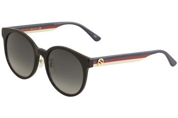 Gucci Women's GG0416SK GG/0416/SK Fashion Round Sunglasses
