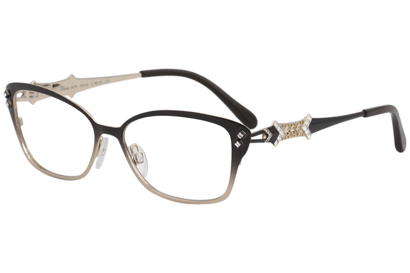 Diva Women\'s Eyeglasses 5478 Full Rim Optical Frame