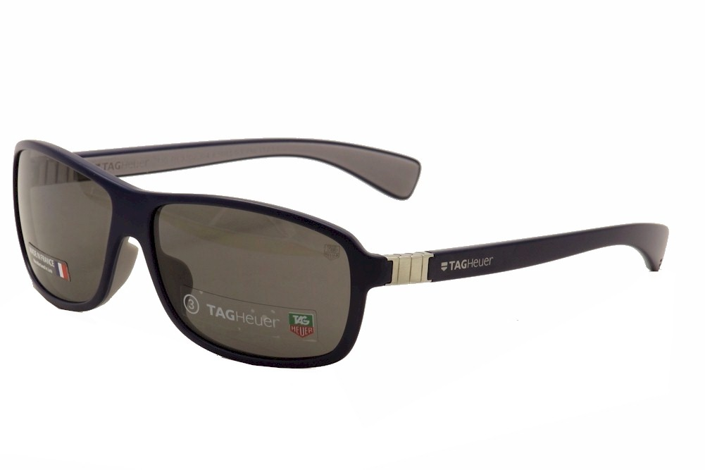 Image of Tag Heuer Legend Men's TH9302 Fashion TagHeuer Sunglasses - Blue - Lens 62 Bridge 13 Temple 130mm