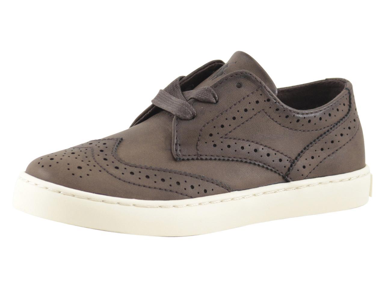 Lauren Shoes Polo Ralph Little Boy's Sneakers Oxford Wingtip Alek ZikPlOTwXu