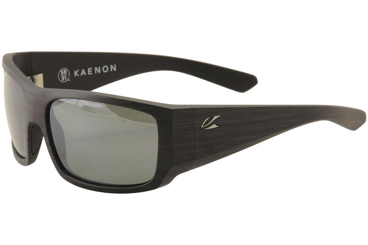 Kaenon Mens Malaga 044 Polarized Wrap Fashion Sunglasses