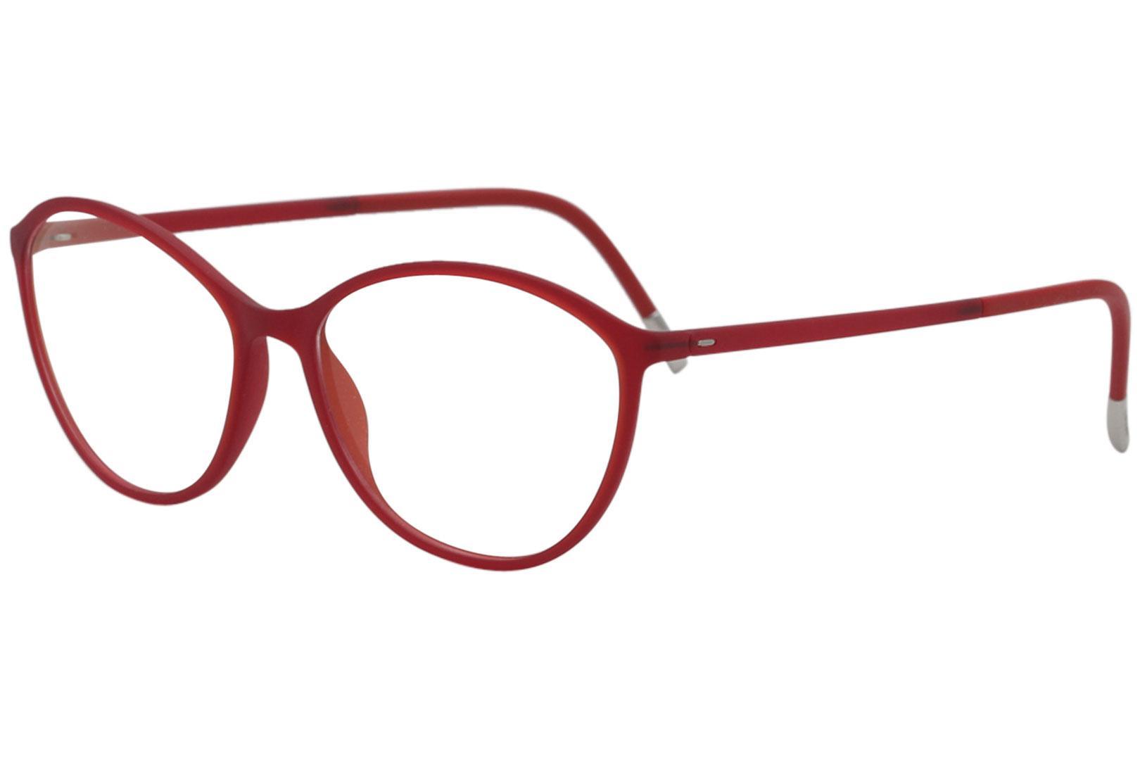 40148cb841bc Silhouette Women S Eyegles Spx Illusion 1584 Full Rim Optical Frame