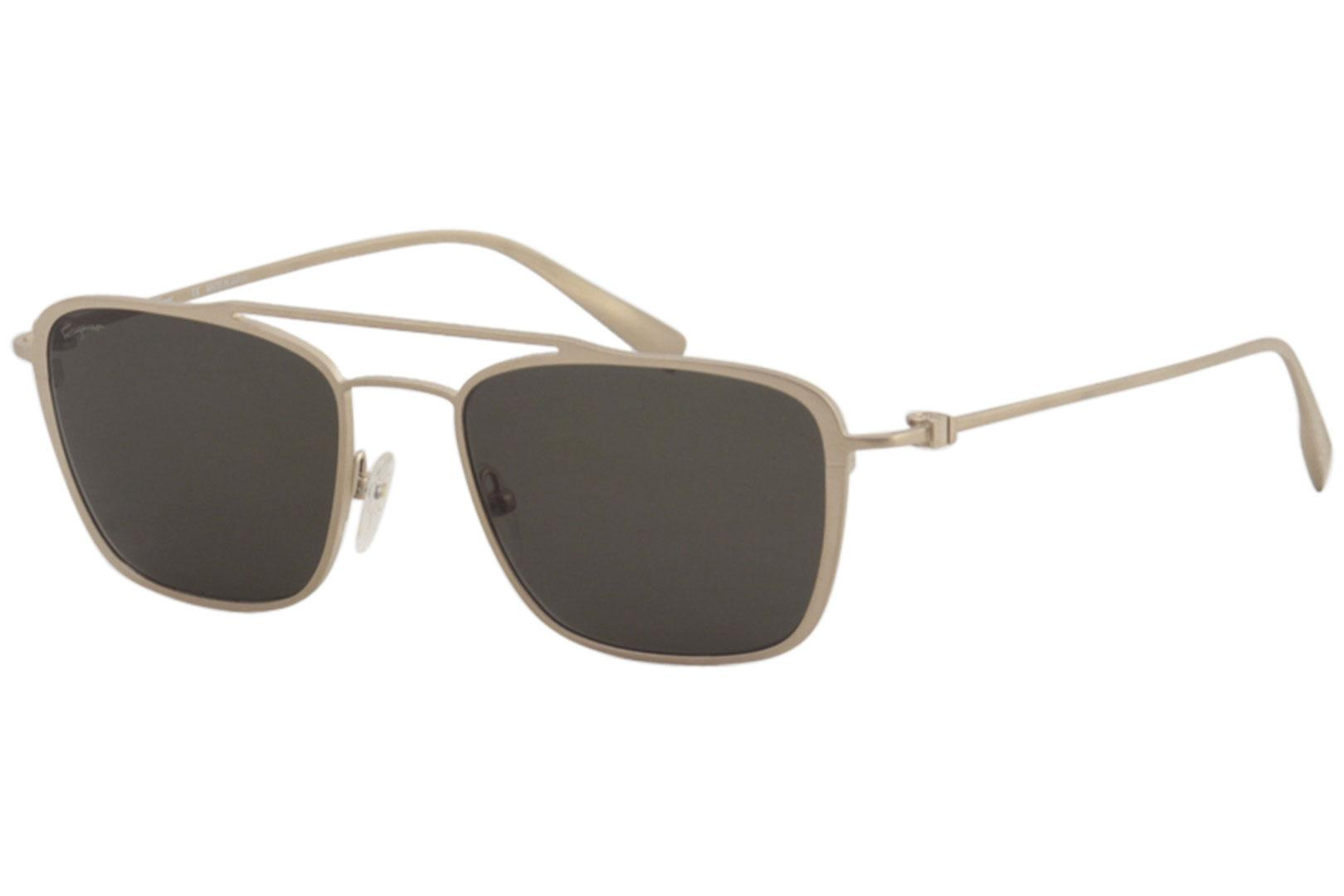 e4c1a82cc9 Salvatore Ferragamo Men s SF500S SF 500 S Fashion Pilot Sunglasses