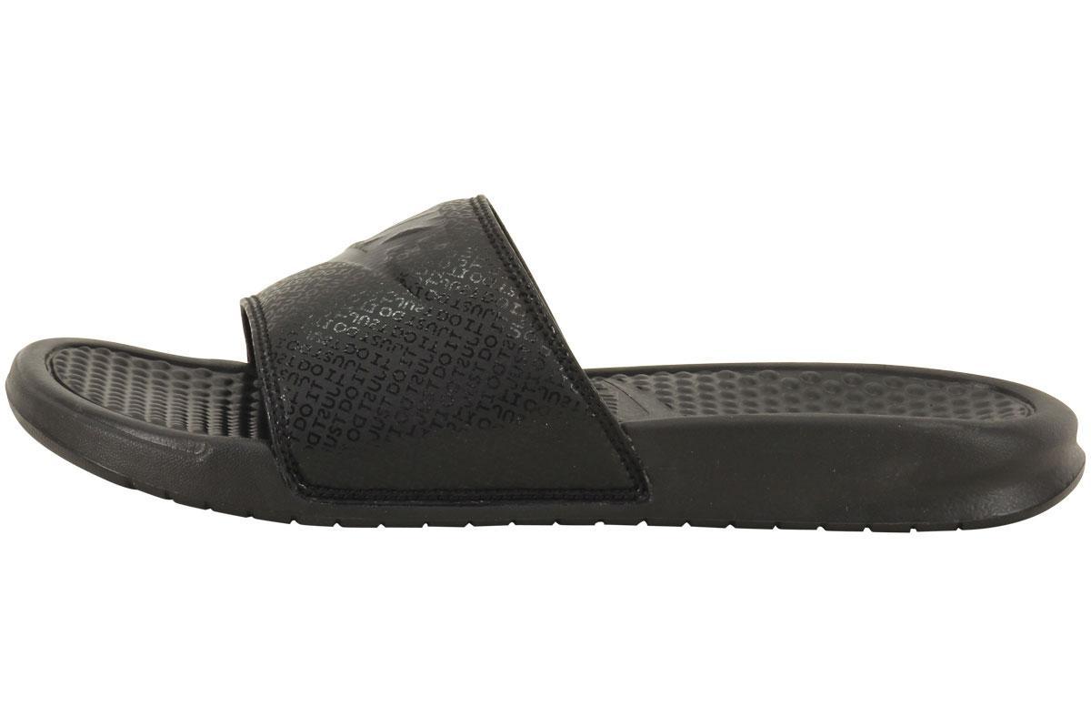 67bd1a21ff21b6 Nike Men s Benassi JDI Logo Print Slides Sandals