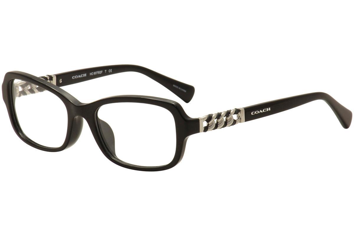 Coach Women\'s Eyeglasses HC 6075QF 6075/Q/F Full Rim Optical Frames