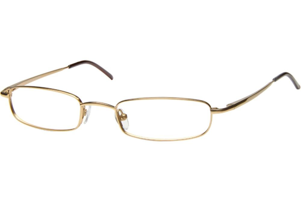 Image of Tuscany Men's Eyeglasses 466 Full Rim Optical Frame - Gold   01 - Lens 47 Bridge 20 Temple 145mm