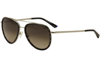 Etnia Barcelona Women's Diagonal Fashion Aviator Sunglasses UPC: