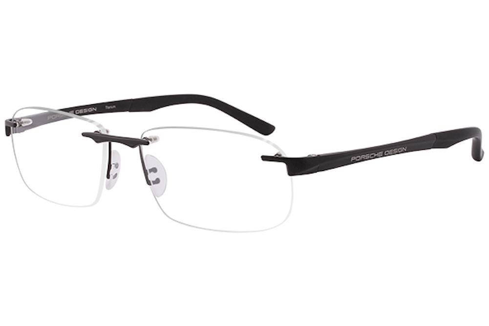 0a6a0190cb2 Porsche Design Men S Eyegles P 8214 P8214 S1 Rimless Optical Frame