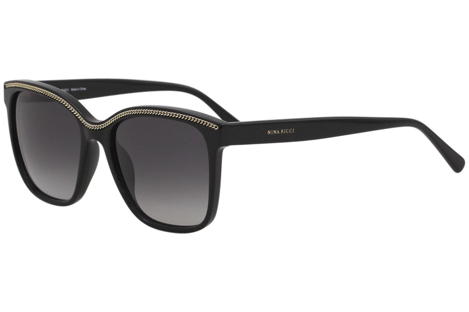 b64976ffcbb3 Nina Ricci Women's SNR096 SNR/096 Fashion Square Sunglasses