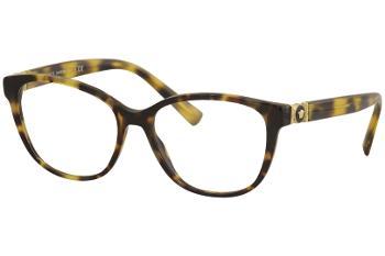 9996c6cbbacb Versace Women's Eyeglasses VE 3226B 3226/B Half Rim Optical Frame
