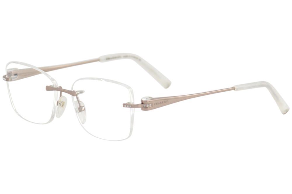 32ceec2c956 Charriol Women s Eyeglasses PC71001 PC 71001 Rimless Optical Frame