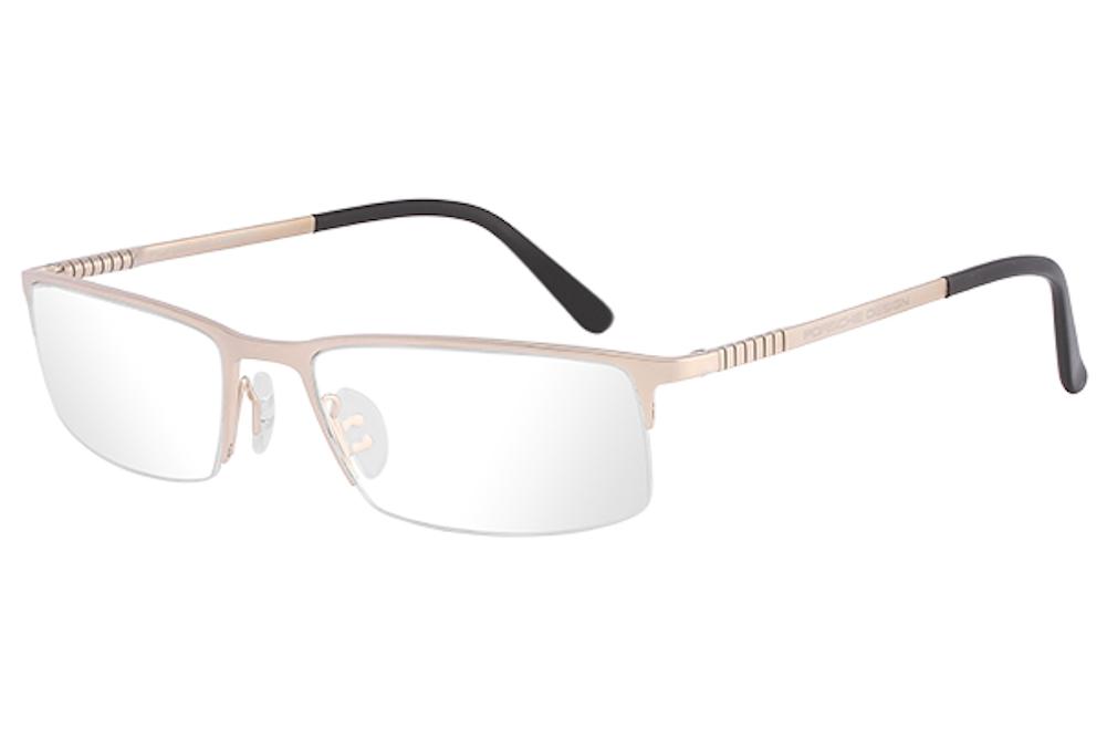 23dc83e85c Porsche Design Men s Eyeglasses P 8237 P8237 Half Rim Optical Frame