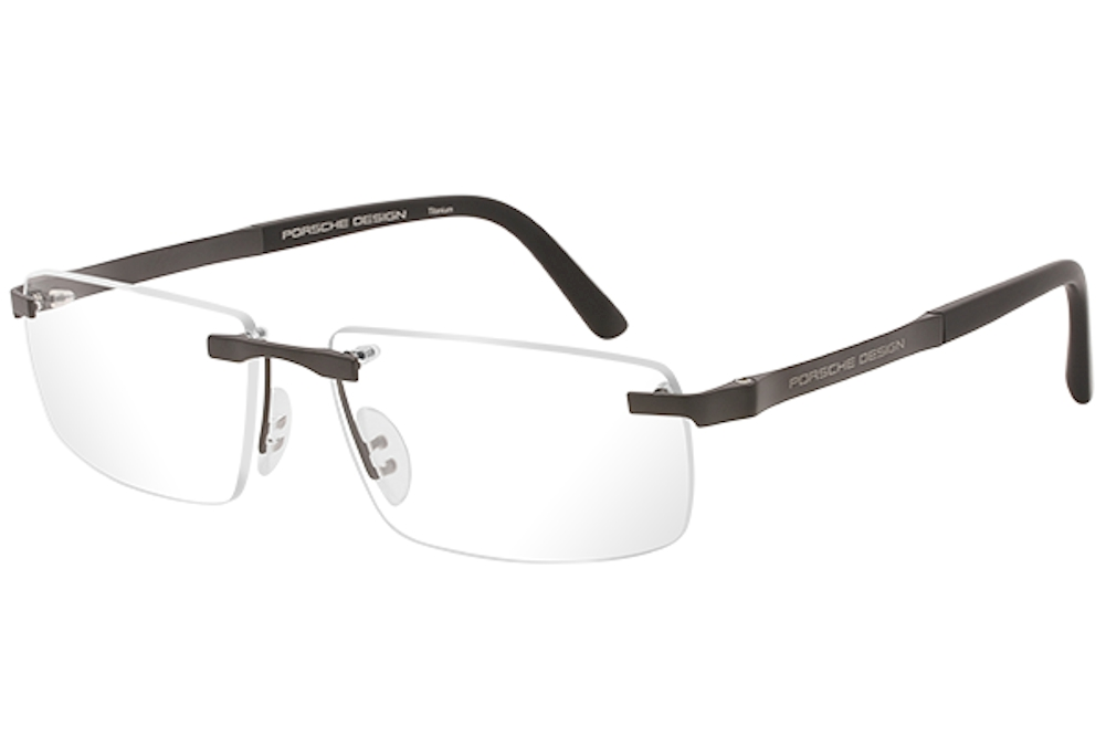 9a0eef8c86b Porsche Design Men s Eyeglasses P 8252 P8252 S2 Rimless Optical Frame