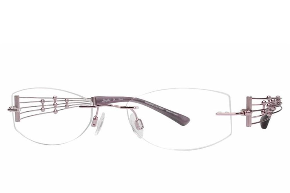 Charmant Line Art Women S Eyeglasses Xl2000 Xl 2000 Rimless Optical Frame