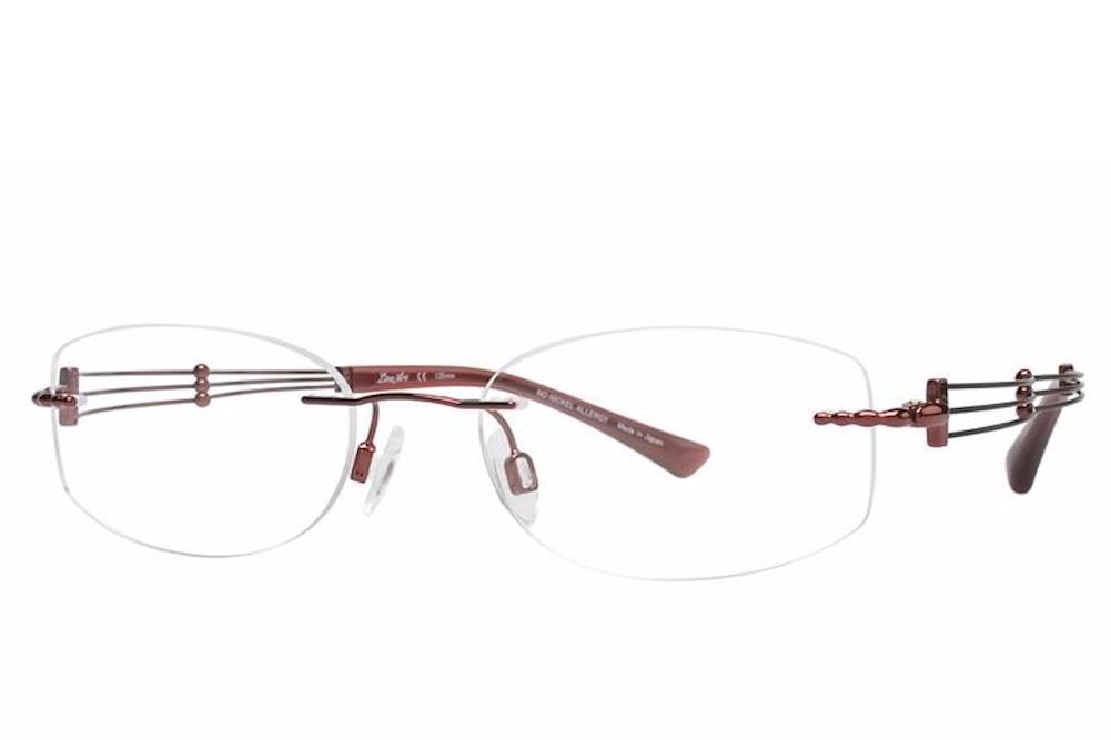 Charmant Line Art Women S Eyeglasses Xl2002 Xl 2002 Rimless Optical Frame