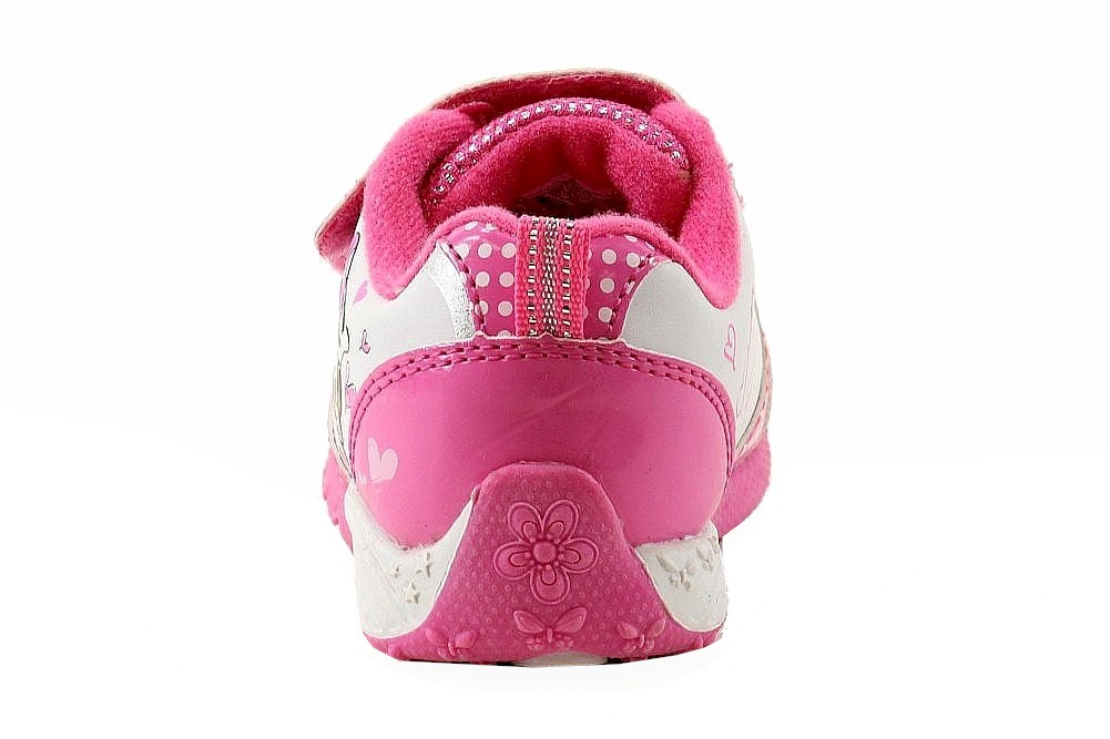 f63dca50bf0 Disney Minnie Mouse Toddler Girl s White Fuchsia Light Up Sneakers Shoes by  Disney