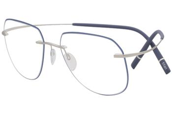 07ff0c7b068 Silhouette Eyeglasses Titan Minimal Art The Icon Accent Rings 5518 ...
