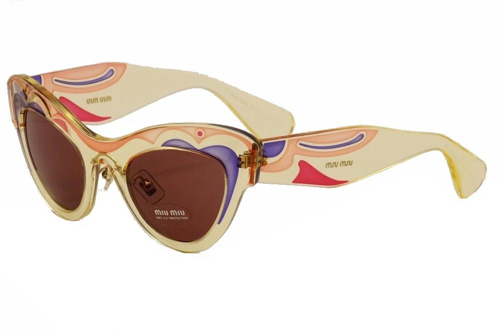 049a260f330a Miu Miu Women s SMU07P SMU 07P Fashion Cat Eye Sunglasses