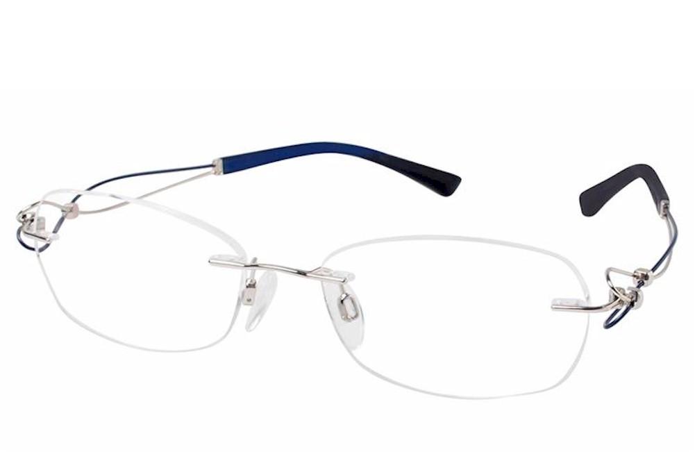 Charmant Line Art Women S Eyeglasses Xl2064 Xl 2064 Rimless Optical Frame