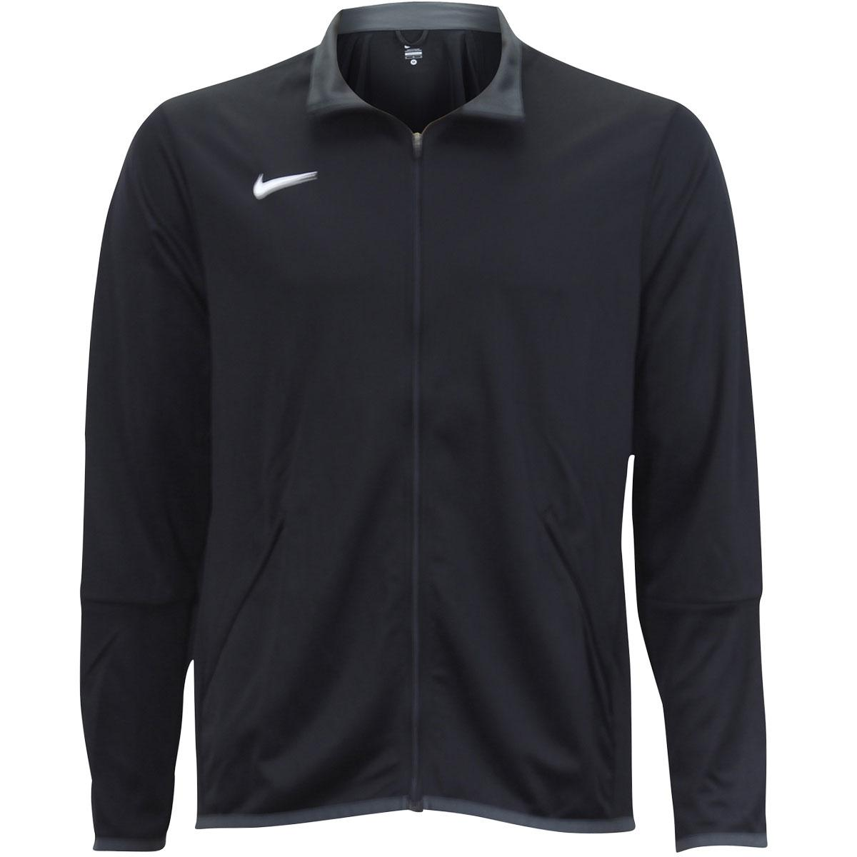 Nike Men's Mesh Stripe Long Sleeve Athletic Training Jacket