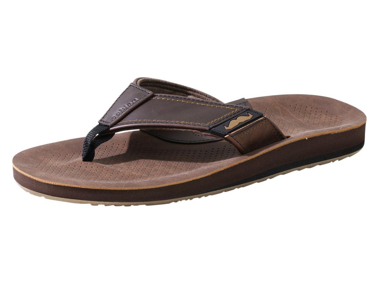 a2b8f1d551436f Cobian Men s Movember Flip Flops Sandals Shoes