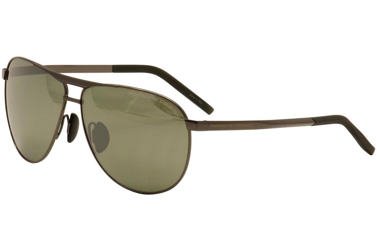 1c8b65db6ae Porsche Design Men s P8642 P 8642 Square Fashion Sunglasses by Porsche  Design
