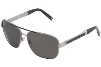 4100ba107f Mont Blanc Men s MB 463S 463 S Pilot Sunglasses