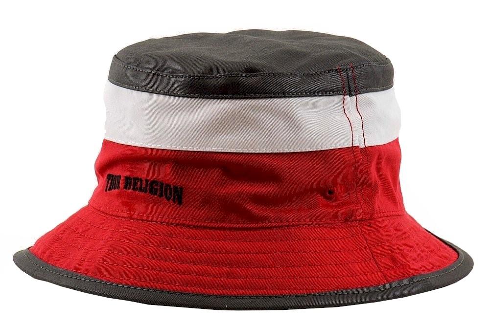 603b4af950c ... best wholesaler 46316 db80d True Religion Men S Color Blocked  Reversible Cotton Bucket Hat. True ...