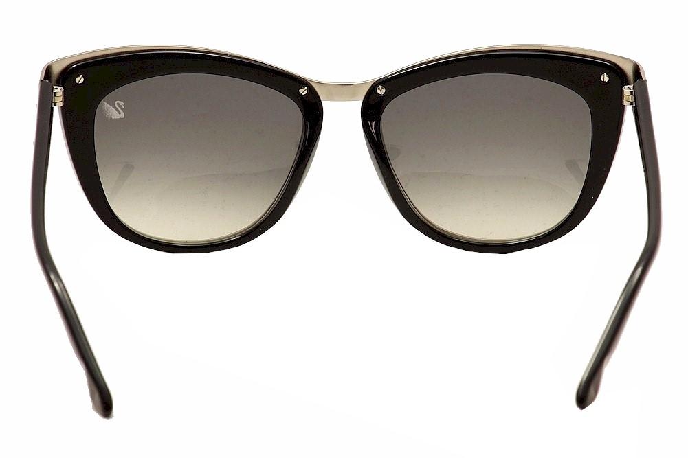 956f8418aee Daniel Swarovski Women s Diva SW61 SW 61 Cat Eye Fashion Sunglasses