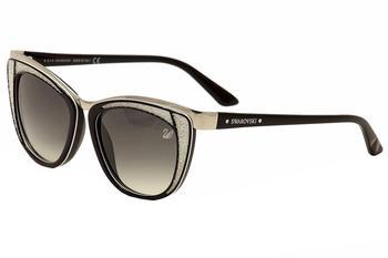 0c57497a4189 Daniel Swarovski Women s Diva SW61 SW 61 Cat Eye Fashion Sunglasses