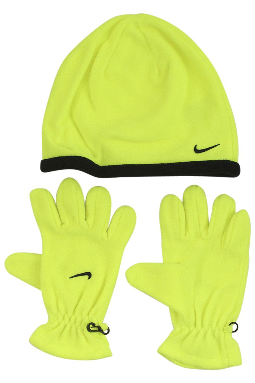 Nike Boy s Swoosh Logo 2-Piece Beanie Hat   Gloves Set ac6add98dff