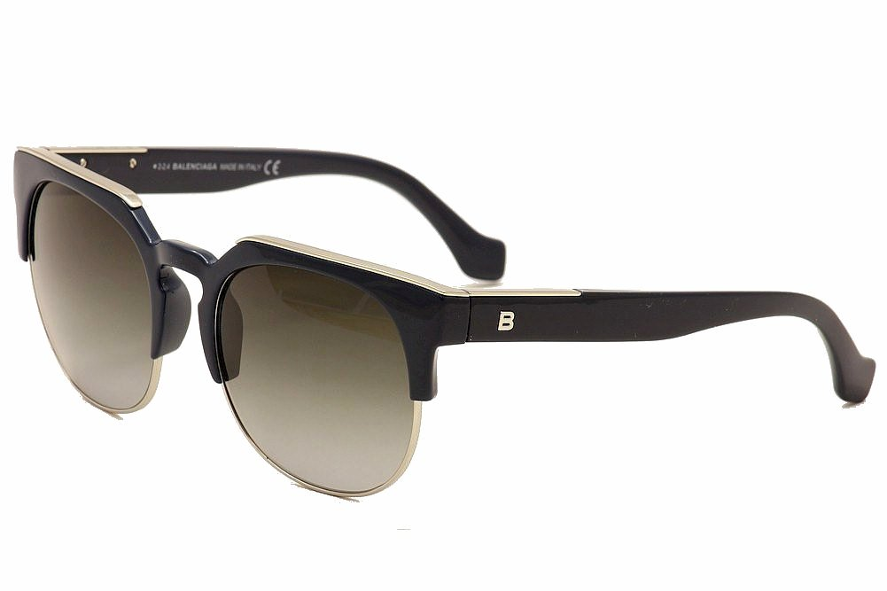 Image of Balenciaga Women's BA21 BA/21 Fashion Sunglasses - Blue - Lens 54 Bridge 20 Temple 140mm