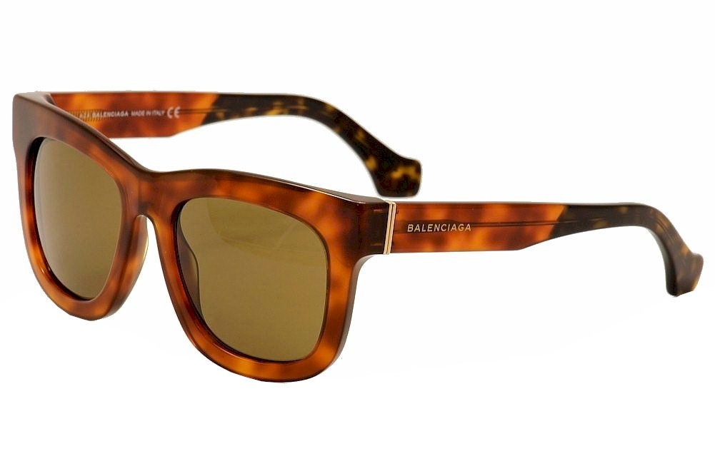 Image of Balenciaga BA09 BA/09 Fashion Sunglasses - Brown - Lens 53 Bridge 19 Temple 140mm