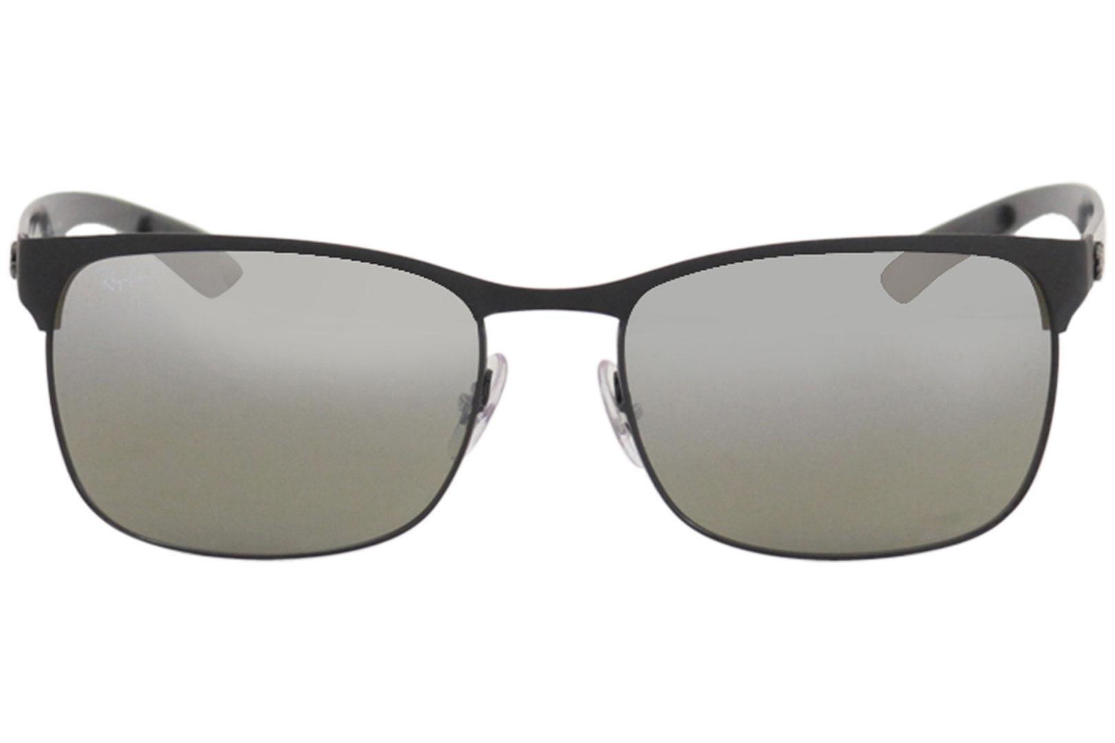 0240d811ae Ray Ban Men s Chromance RB8319CH 8319 Rectangle RayBan Polarized Sunglasses  by Ray Ban. 123456