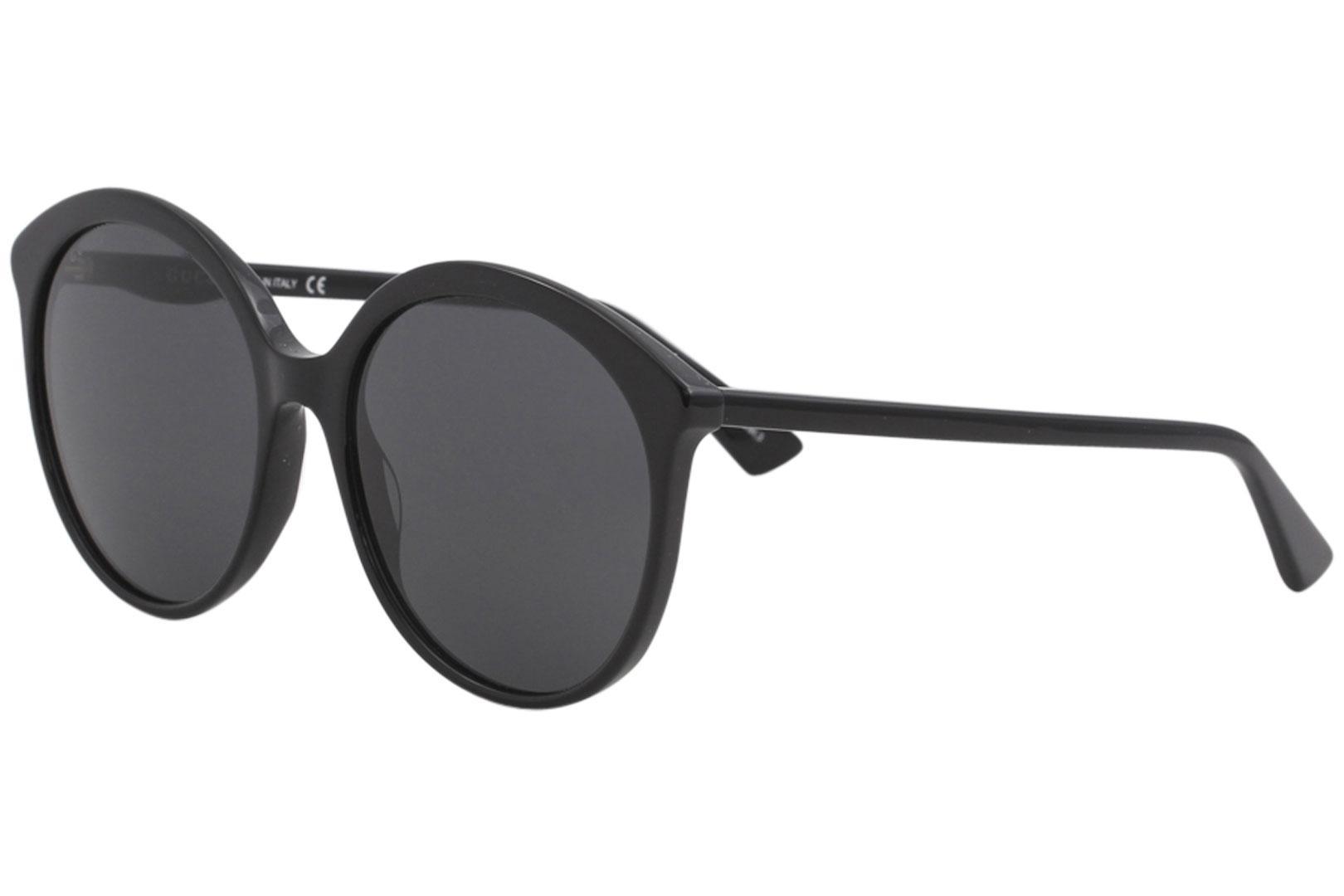 ad9597c3c21 Gucci Women's Urban GG0257S GG/0257/S Fashion Round Sunglasses