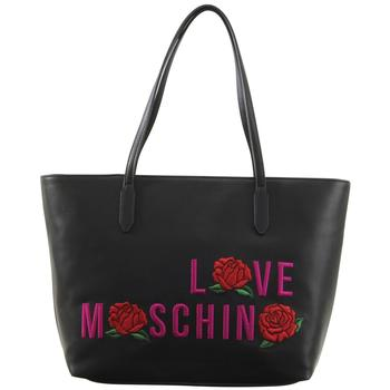 Love Moschino Women's Embroidered Rose Tote Handbag