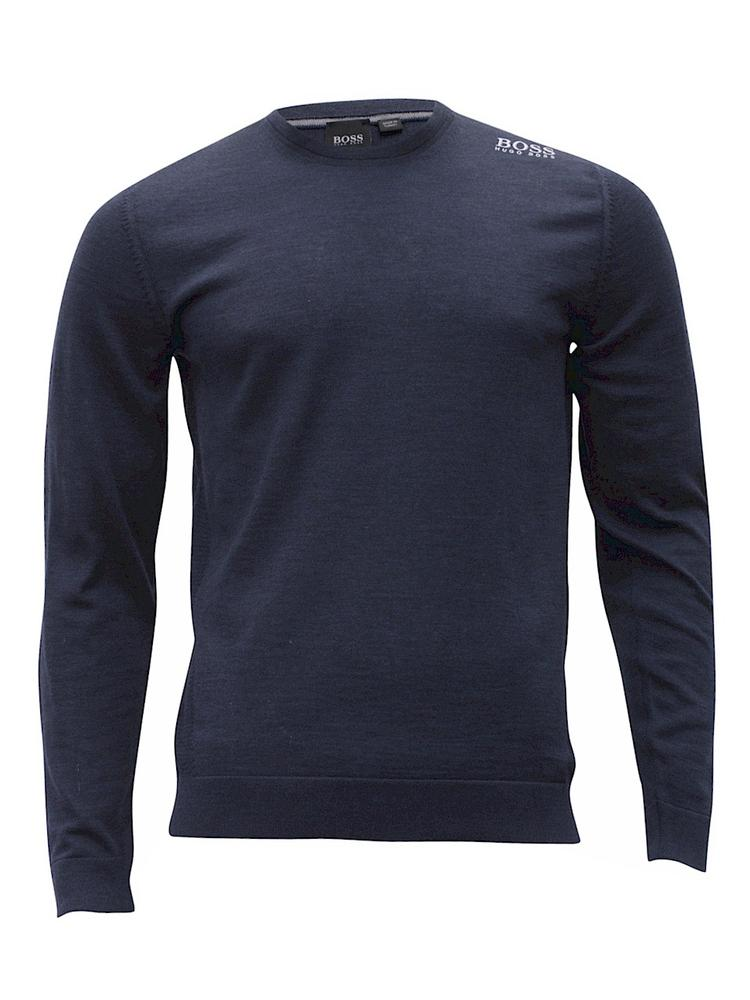 Hugo Boss Men's Ratie-Pro Long Sleeve Crew Neck Wool Sweater Shirt