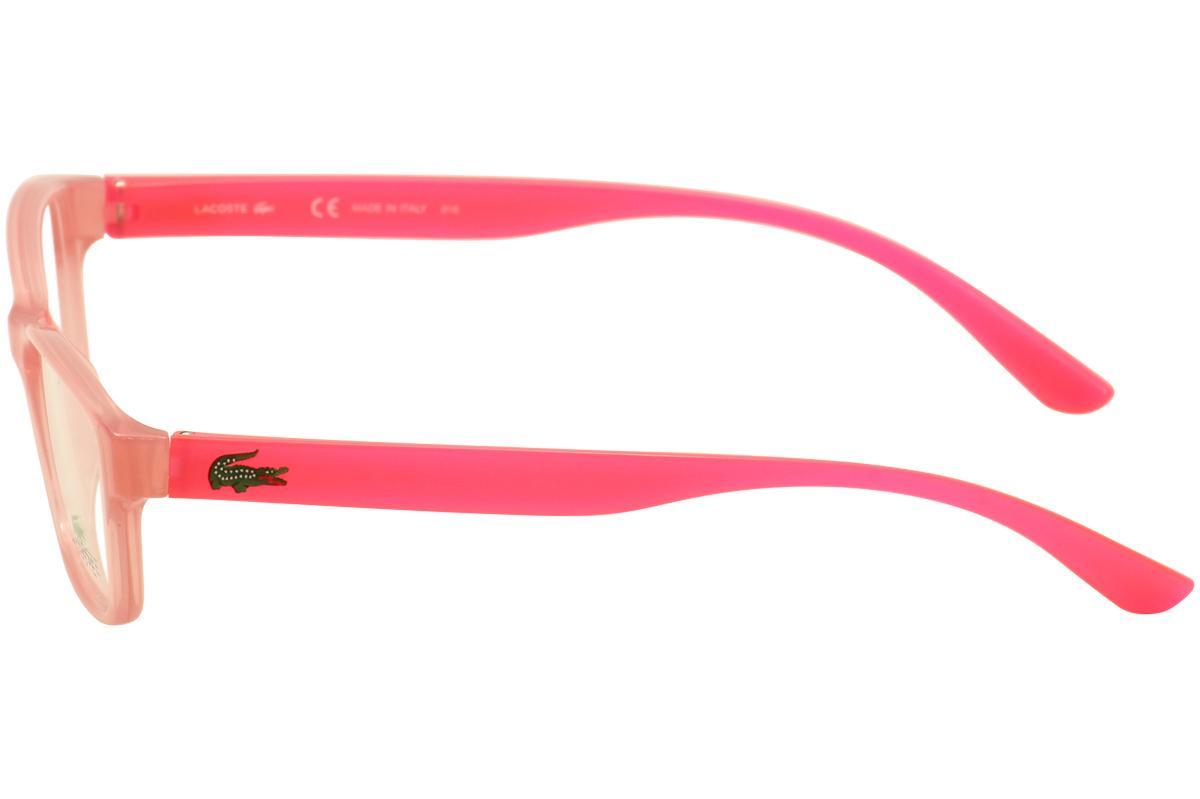 0654bfcd6c Lacoste Kids Youth Girl s Eyeglasses L 3803B 3803 B Full Rim Optical ...