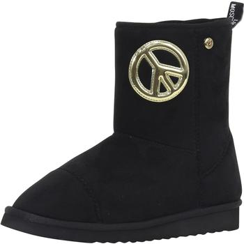 Love Moschino Women's Peace & Love Ankle Boots Shoes UPC: