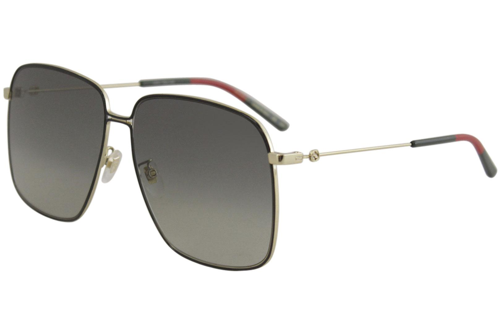 7b91dac9bb8 Gucci Women s GG0394S GG 0394 S Fashion Square Sunglasses by Gucci. Touch  to zoom