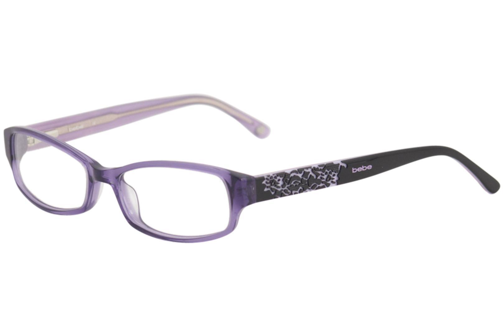 1cc94d1386a Bebe Women s Hugs Eyeglasses BB5063 BB 5063 Full Rim Optical Frame