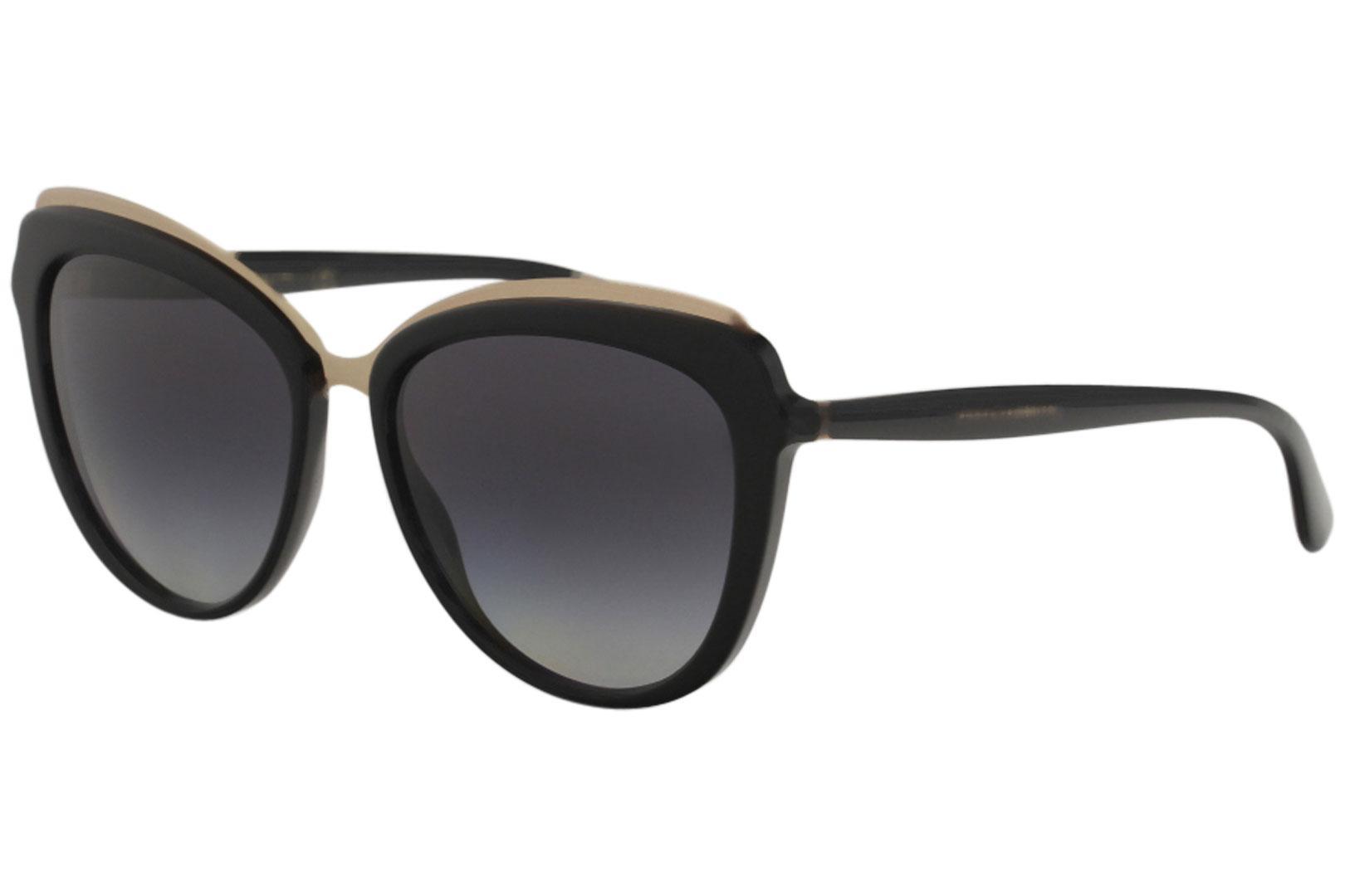1b7f077e69b2 Dolce & Gabbana Women's D&G DG4304 DG/4304 Fashion Cat Eye Sunglasses by  Dolce & Gabbana