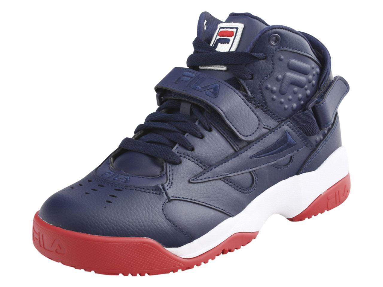 b470874d Fila Men's Spoiler High-Top Sneakers Shoes