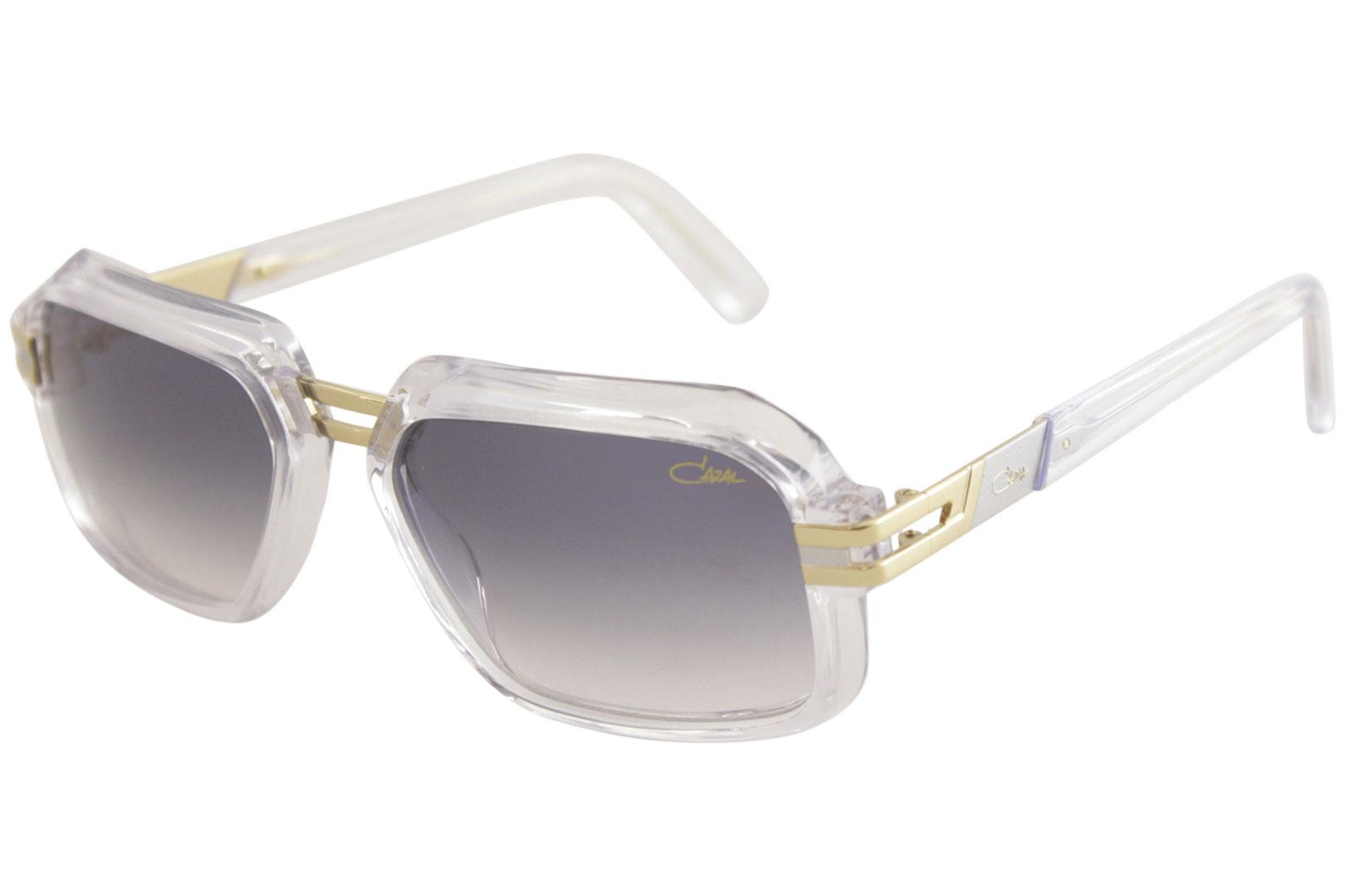 3d65b64c8b Cazal Vintage 6004 3 001 Black Gold Fashion Sunglasses 56mm