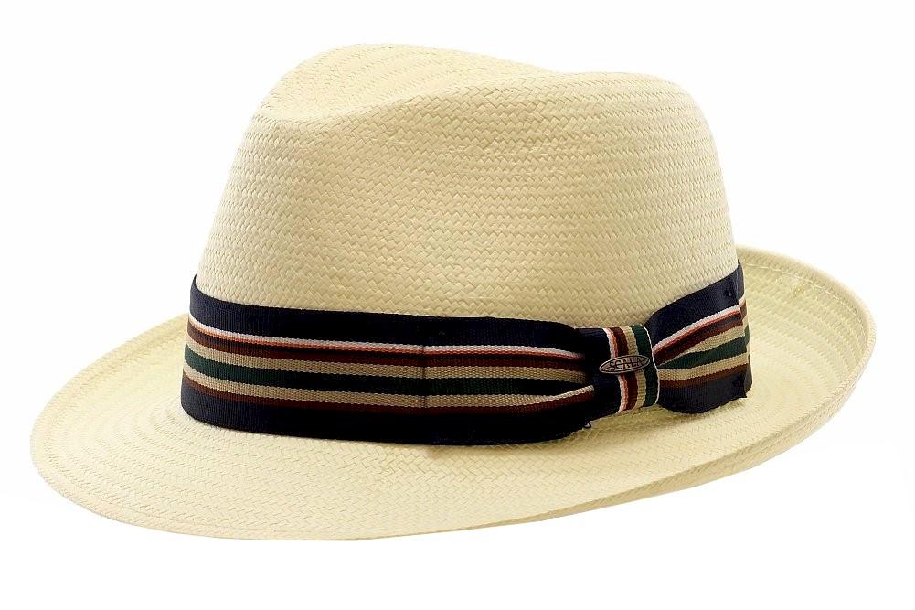 Image of Scala Classico Men's Toyo Fashion Fedora Hat - Ivory - Medium