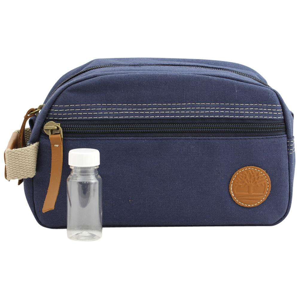 Timberland Men's Washed & Waxed Canvas Travel Kit Bag