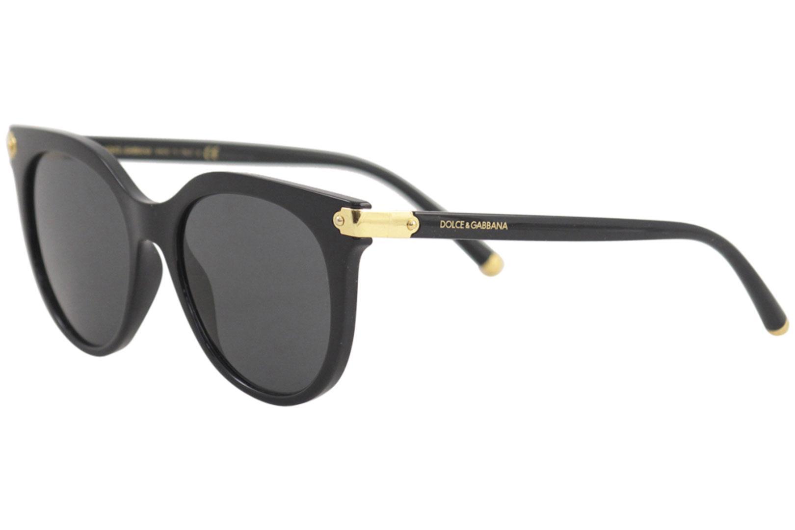 70910b09513e Dolce & Gabbana D&G DG6117 DG/6117 501/87 Black/Gold Square ...