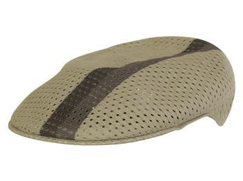 d697449261d60 Kangol Men's Mesh Stripe 504 Flat Cap Hat by Kangol